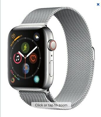 $ CDN1130.03 • Buy Apple Watch Series 4 Stainless Steel Case 44m With Milanese Loop MTV42LL/A