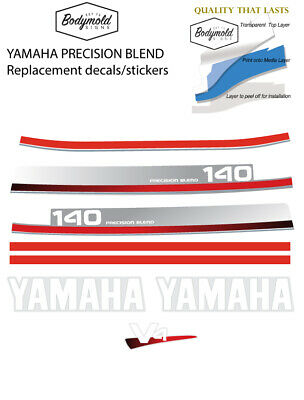 AU110 • Buy YAMAHA 140hp PRECISION BLEND  Replacement Outboard Decals