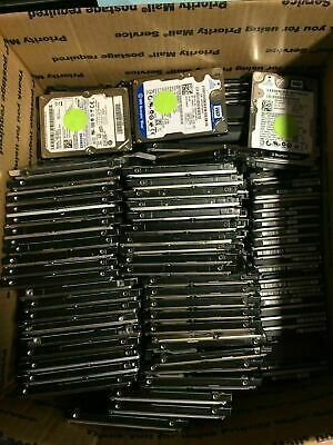 $ CDN444.23 • Buy Lot Of 25 2.5  500GB Mixed Brands  SATA Laptop Hard Drives - WIPED & TESTED
