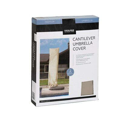 AU49.95 • Buy Excalibur Outdoor Living Cantilever Umbrella Cover Beige Excalibur Outdoor