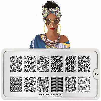 $9.99 • Buy MoYou-London Nail Art Stamping Plate Africa Collection 06