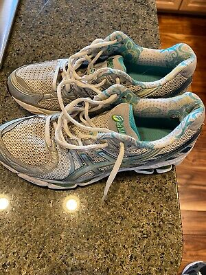 $38 • Buy Asics Gel Kayano 17 Running Shoes Multicolored Running Sneakers Womens 9.5