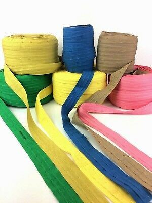1  Cotton Rufflette Curtain Tape 3 Metres Straight Off The Roll Ref M2 • 2.48£