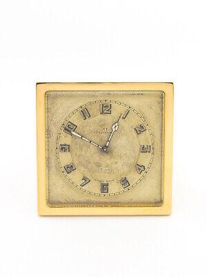 £1609.36 • Buy Fine And One -of-a-kind Omega Table Clock With 8 Days Pure Art Deco