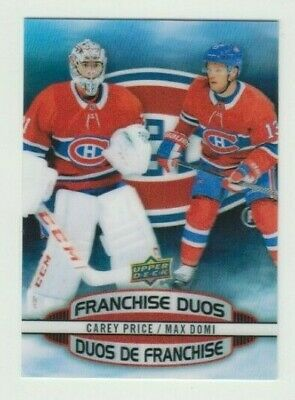 $ CDN9.99 • Buy 2019/20 Tim Hortons Franchise Duos+Clear Cut Phenoms U Pick To Complete Your Set