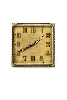 £1316.75 • Buy Extra Fine Omega Table Clock With 8 Day  Probably From 1915's