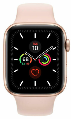 $ CDN486.54 • Buy Perfect Condition Apple Watch Series 5 44MM Rose Gold GPS Watch Only -Sport Band