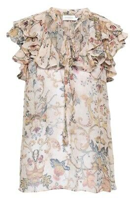 $265 • Buy Authentic Zimmermann Floral Top, Size 1 NWT Retail $425