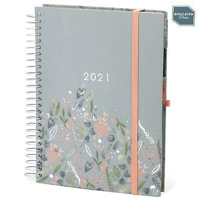 Boxclever Press 2020 - 2021 Family Life Book Diary. Week-to-view Layout. • 14.99£