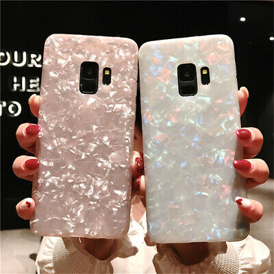 $ CDN6.99 • Buy New For Samsung Galaxy S9 S8 Plus Glossy Marble Soft Silicone Shining Case 2020