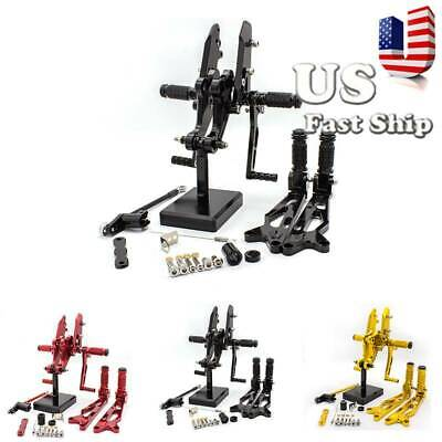 $108.98 • Buy FXCNC Fits CBR1000RR CBR600RR MSX125 Rearsets Footpegs Footrests Pedals