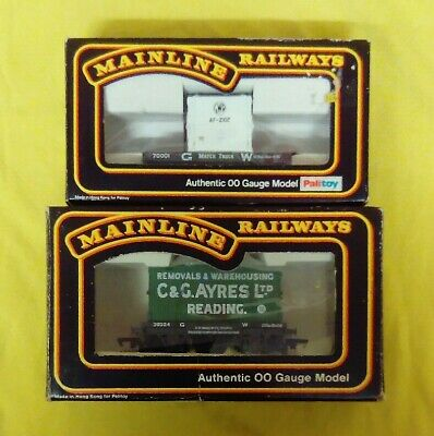 Vintage Mainline GWR Container Wagons (OO Gauge) • 10£