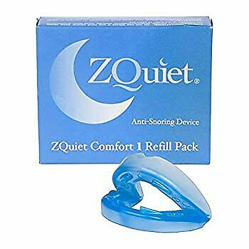AU122.58 • Buy ZQUIET Original Anti-Snoring Mouthpiece Solution, Comfort Size #1 Refill ONLY (S