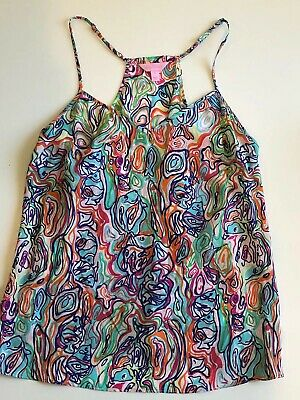 $22 • Buy Lilly Pulitzer Dusk Top Size Large Pre-Owned EUC