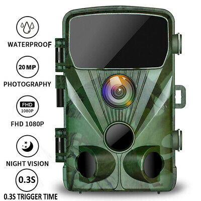 £29.45 • Buy 20MP TOGUARD Trail Camera 1080P Outdoor Wildlife Game Hunting Cam IR NightVision