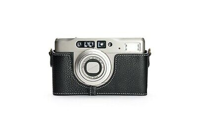 $ CDN54.85 • Buy Genuine Real Leather Half Camera Case Bag Cover For Contax TVS Ii Film Camera