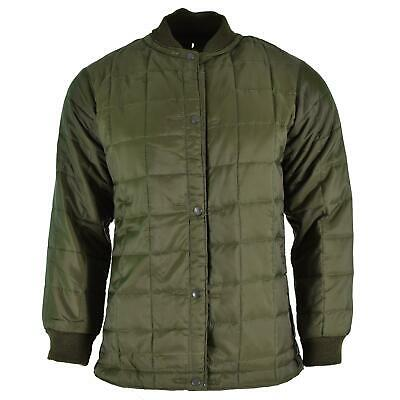 £16.02 • Buy Original Italian Military Quilted Jacket Army Troop Winter Parka OD Uniform NEW