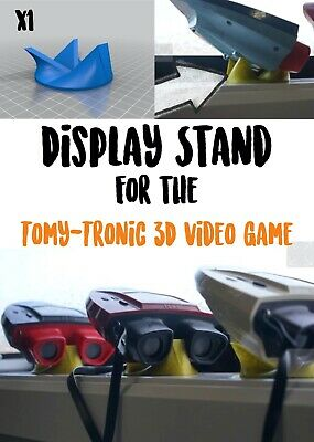 Display Stand   TOMY-Tronic 3D Vintage Handheld Electronic Game • 9.99£