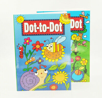 1x Dot To Dot Puzzle Book Alphabet Big A4 School Child Children Kids Colouring • 2.99£