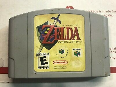 $13.50 • Buy Legend Of Zelda: Ocarina Of Time N64- NINTENDO 64 -Nice Condition- Tested
