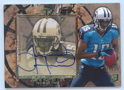 $9.99 • Buy Justin Hunter 2013 Topps Triple Threads Transparencies Auto Rc 14/25 Rookie