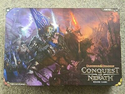 AU122 • Buy Dungeons & Dragons Board Game Conquest Of Nerath Excellent Complete