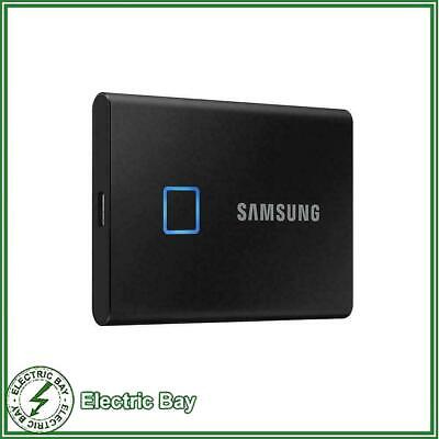 AU149 • Buy 500GB 1TB 2TB Portable SSD Samsung T7 Touch USB-C External Solid State Drive