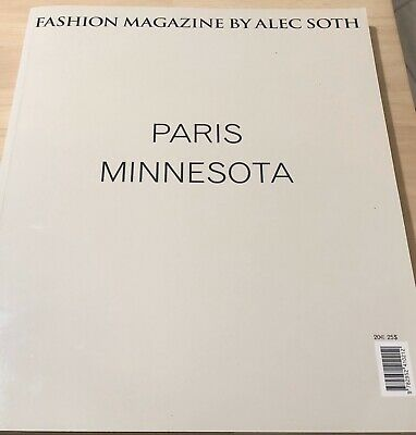 $175 • Buy Fashion Magazine By Alec Soth, Signed,As New, Publisher Magnum Photos Paris 2007