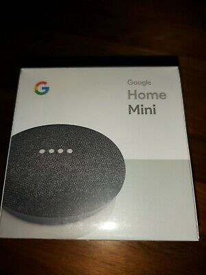 AU35 • Buy Google Home Mini Smart Assistant - Charcoal.  Brand New In Original Sealed Box