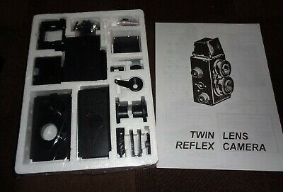 Recesky Twin Lens Reflex Camera Plastic Model Camera Kit To Make & Use ~ Sealed • 4.99£