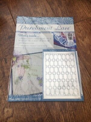 Parchment Lace Magazine With Free Tattered Lace Parchment Grid  • 5£