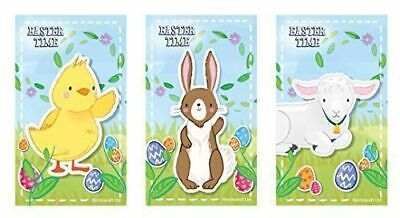 12 EASTER Notepads Notebooks Childrens  Girls Kids Party Loot Bag Fillers  • 2.49£