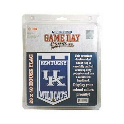 $29.99 • Buy GAMEDAY OUTFITTERS UNIVERSITY OF KENTUCKY Wildcats FLAG BANNER 80140
