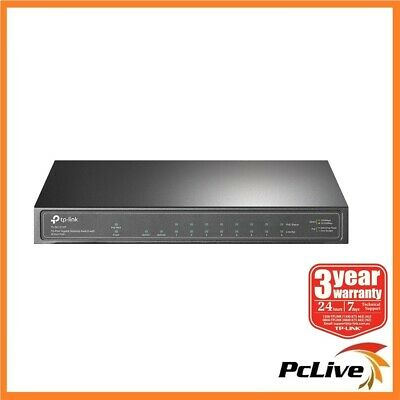 AU113.60 • Buy NEW TP-Link TL-SG1210P 10-Port Gigabit Desktop Switch With 8-Port PoE+ SFP Slot