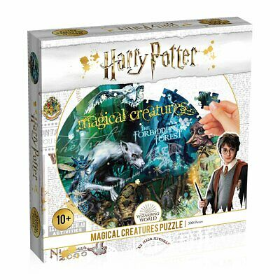 $9.95 • Buy Harry Potter Magical Creatures 500 Piece Jigsaw Puzzle - New For 2020