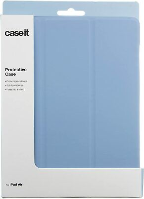 Caseit Folding Case Cover With Built-In Stand For Apple IPad Air 1st Gen - Blue • 5£