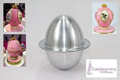 3D Novelty Cake Baking Tins And Pans | 3D Egg Ball Cake Shape  • 11.39£