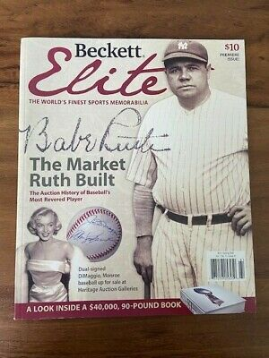 $1.97 • Buy Beckett Elite Premiere Issue The World's Finest Sports Memorabilia Spring 2006