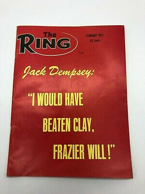 $8 • Buy Ring Magazine Featuring Jack Demsey February 1971