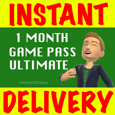 $ CDN6.65 • Buy 1 Month Xbox Ultimate Game Pass Live Gold+game Pass- (2x14days)-genuine & Legal