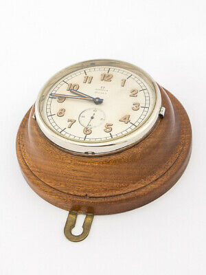 £1755.67 • Buy Rare Omega Table  Desk Clock With 8 Day' S  Swedish Military 30's