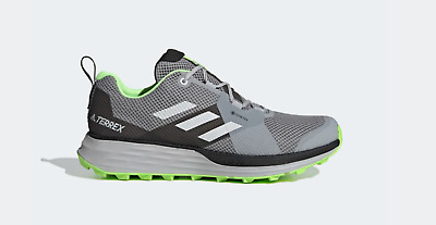 $ CDN114.22 • Buy Adidas Mens Terrex Two Gore-tex Trail Running Hiking Outdoor Shoes Grey Size 9