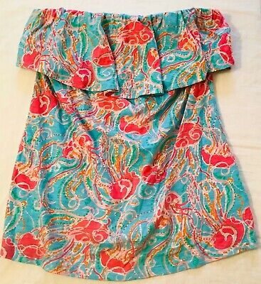 $19.99 • Buy NWOT Lilly Pulitzer Wiley Top Jellies Be Jammin Size L
