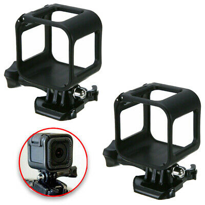 $ CDN16.48 • Buy 2 Pcs Low Profile Frame Mount Protective Case Cover For GoPro Hero 4 5 Session