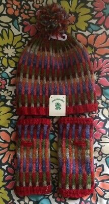 New Pachamama Multicoloured Hat And Gloves  • 40£