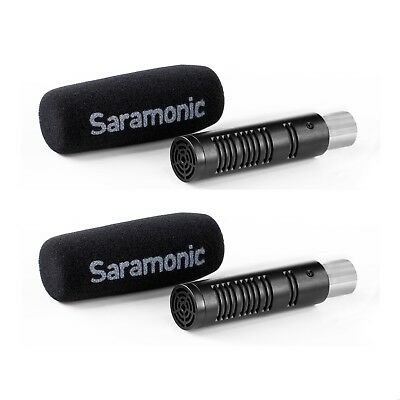 Saramonic Shotgun Mic Kit Set Of 2 XLR Surround Microphones - SRAXM3 • 129.99£