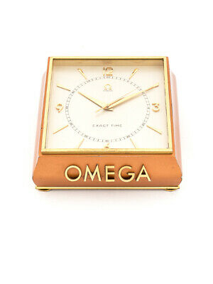 £2779.81 • Buy Very Rare And Fine Shop Window Clock Made By Omega Swiss In The 50ies