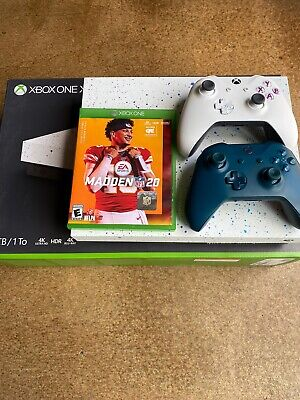$230 • Buy Microsoft Xbox One X 1 TB Limited Edition With Madden 20 And Extra Controller