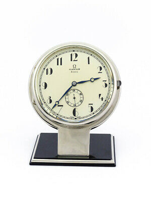 £2121.43 • Buy Ultra Rare  Beautiful Omega Table Desk Clock 8 Day Movement From The 30's
