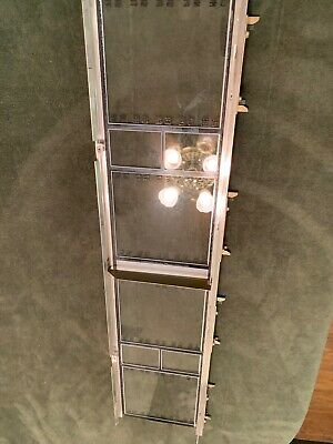 $63 • Buy Seeburg 222 Jukebox Title  Glass With Frame